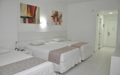 Detalhes da reserva Apartamento Standard Triplo Twin