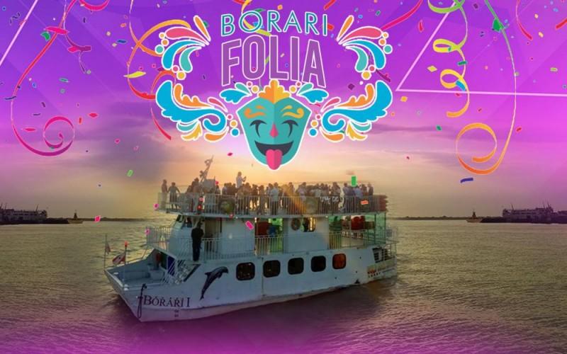 Borari Folia. Carnaval Na Orla